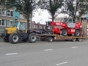 transport Robert Bruijn verreiker verhuur, neem contact op