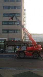 Sloopwerk ( Mankracht Heerhugowaard), Gelderlandplein te Amsterdam Robert Bruijn Verreiker Verhuur